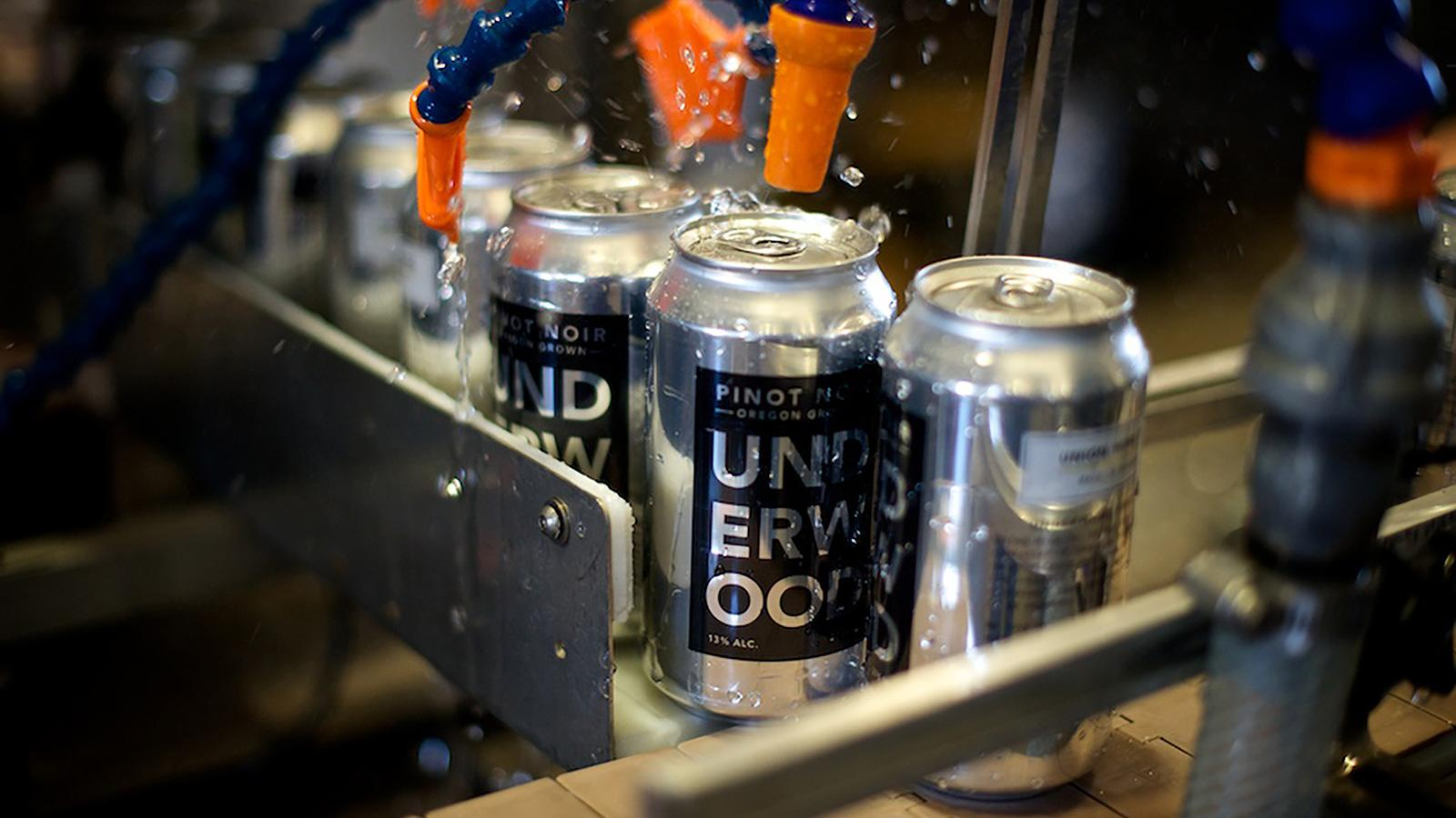 Canned Wine Sales Are Bursting at the Seams