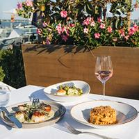 Beachfront views of Lake Montauk are a summer-suited part of the outdoor-dining experience at Showfish.10 Top Wine Restaurants in the Hamptons
