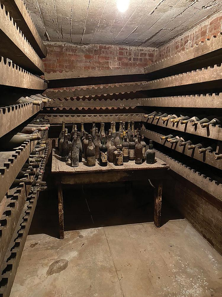 Woodrow Wilson's fine wines survived Prohibition, thanks to some presidential wile, and have been stored in his Washington, D.C., home for nearly a century.