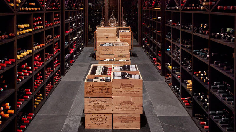 Margaux Grill's cellars