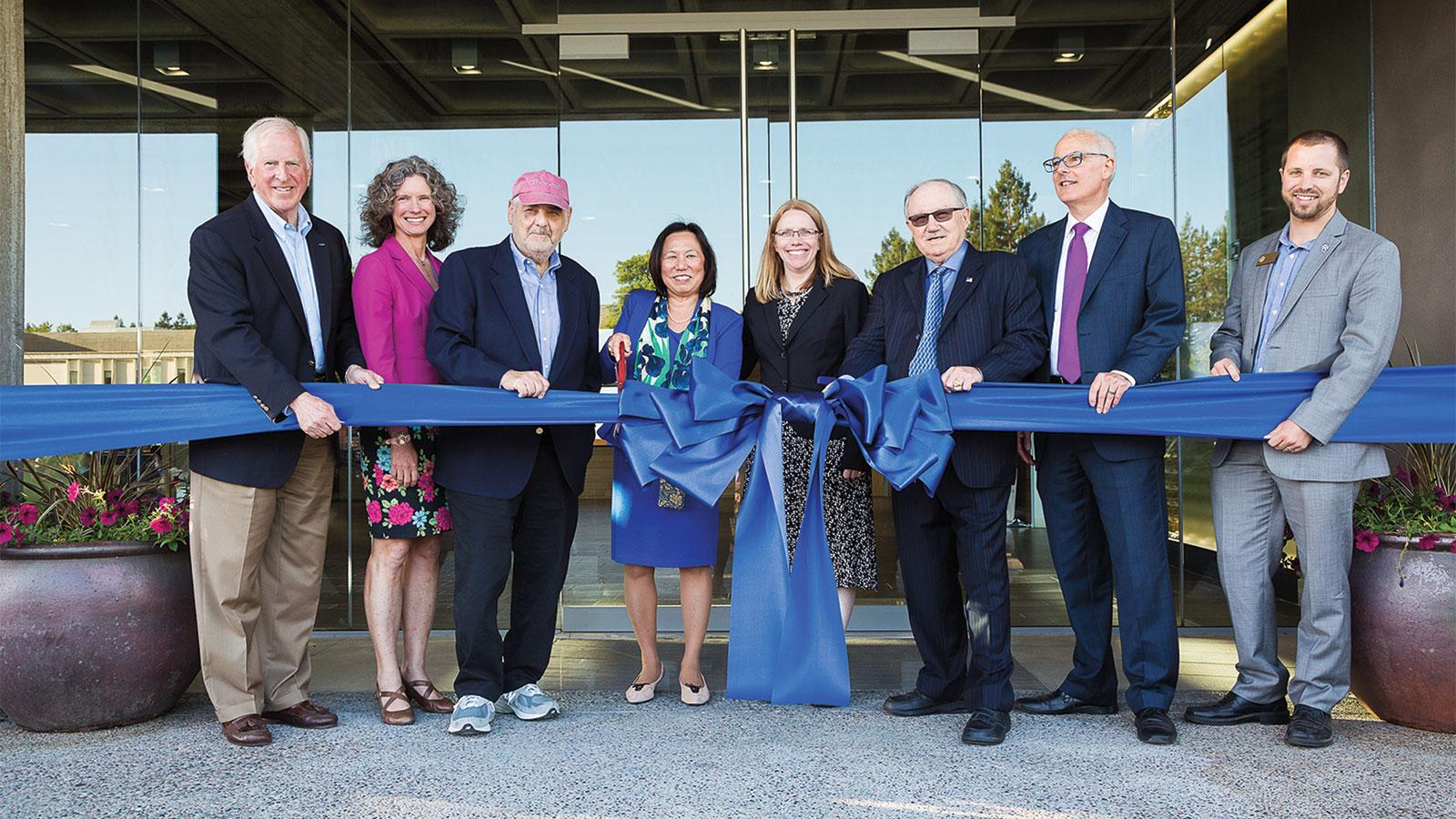 Sonoma State Unveils Wine Spectator Learning Center