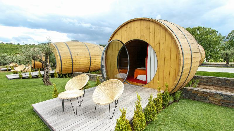 Spend the Night in a Wine Barrel