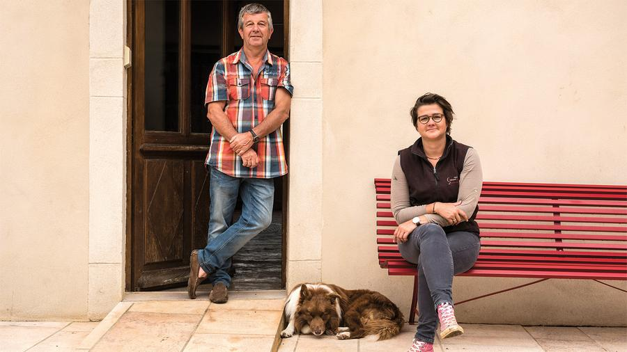 The father-and-daughter team of Eric and Cyrielle Rousseau produce some of Burgundy's most sought-after reds at their family domaine, Armand Rousseau, in Gevrey-Chambertin.