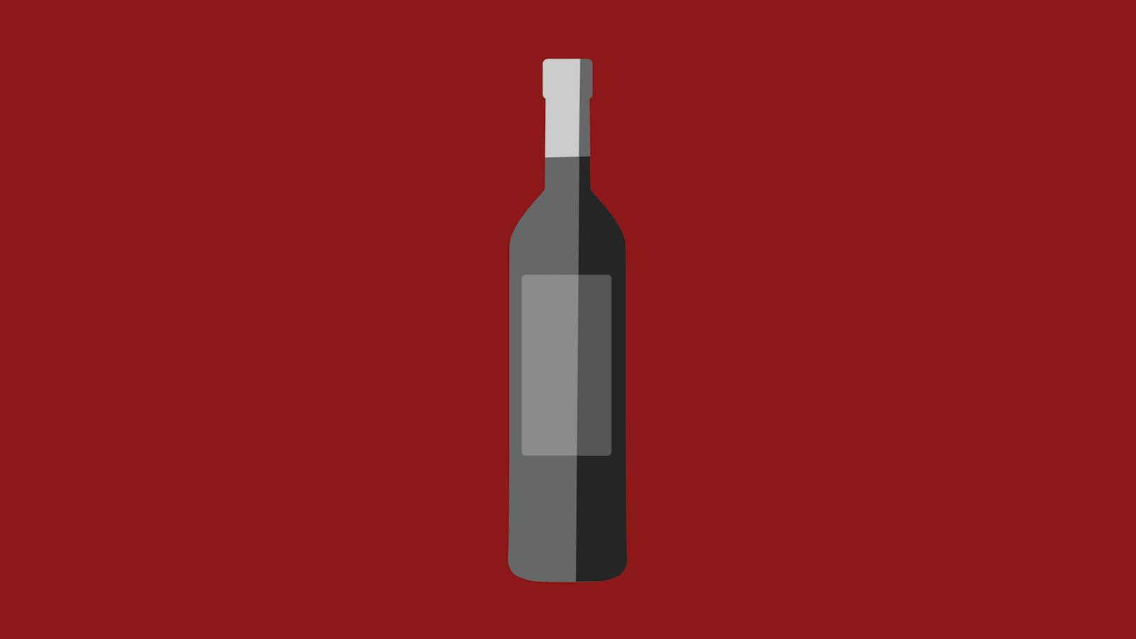What's the best way to clean mold from a bottle of wine?